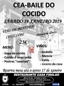 Cena Baile Cocido 2019